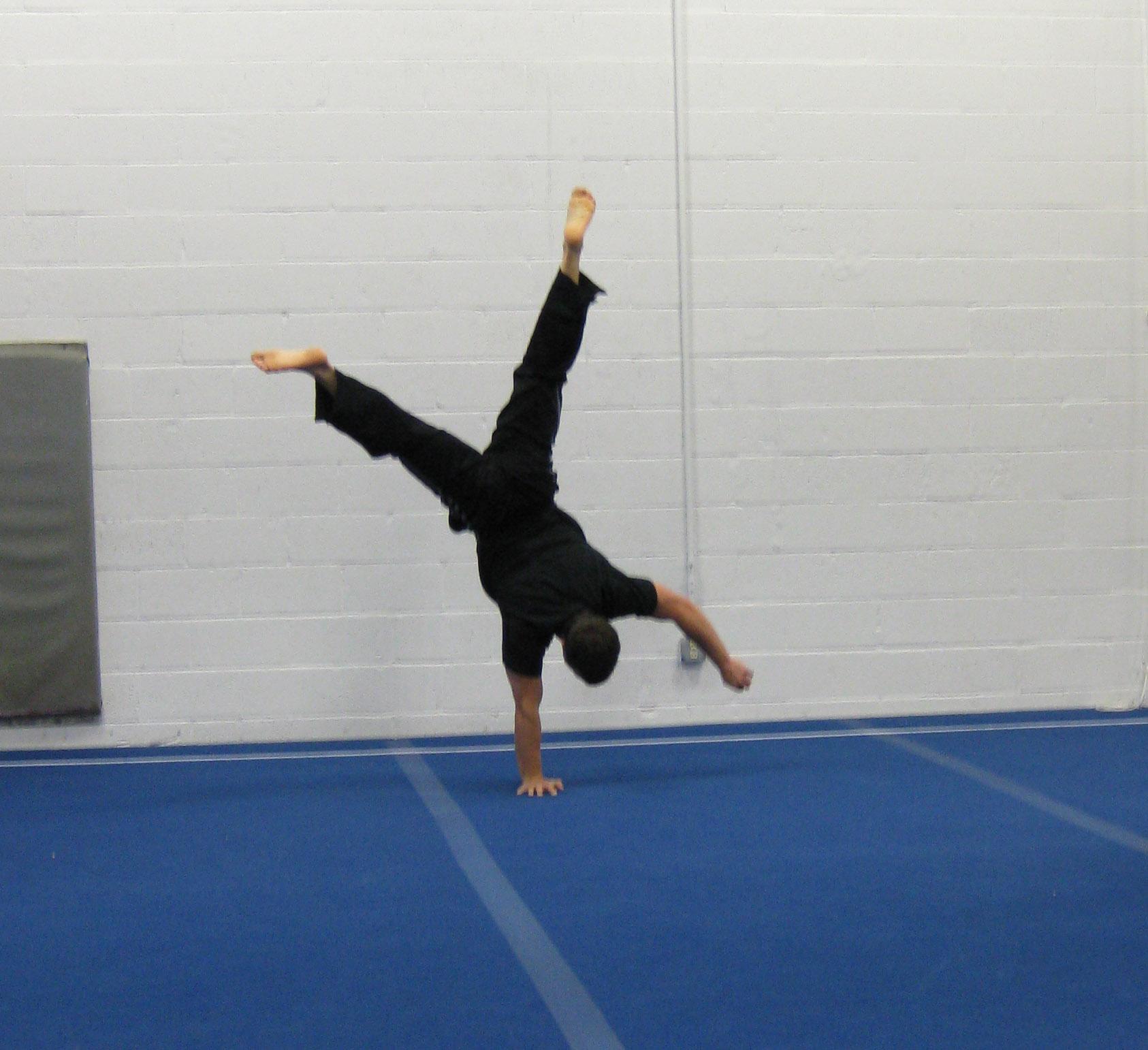 Evolution of a e Arm Handstand Bodyweight Strength Training