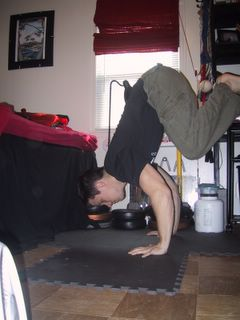 Learn how to do the handstand