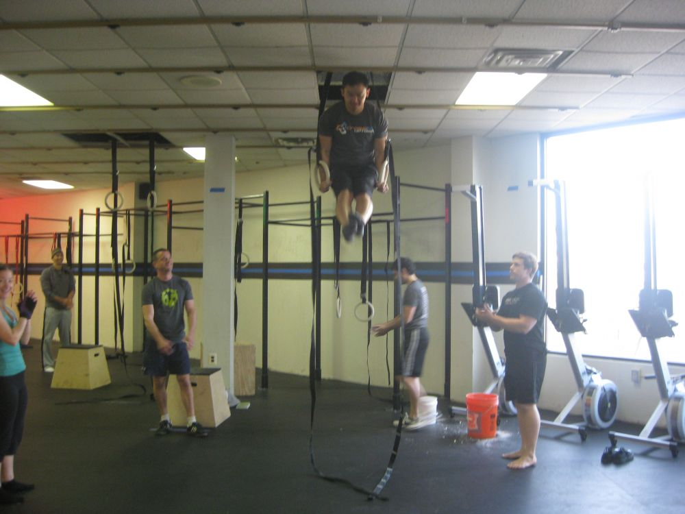 Klint Gets his first muscle-up!